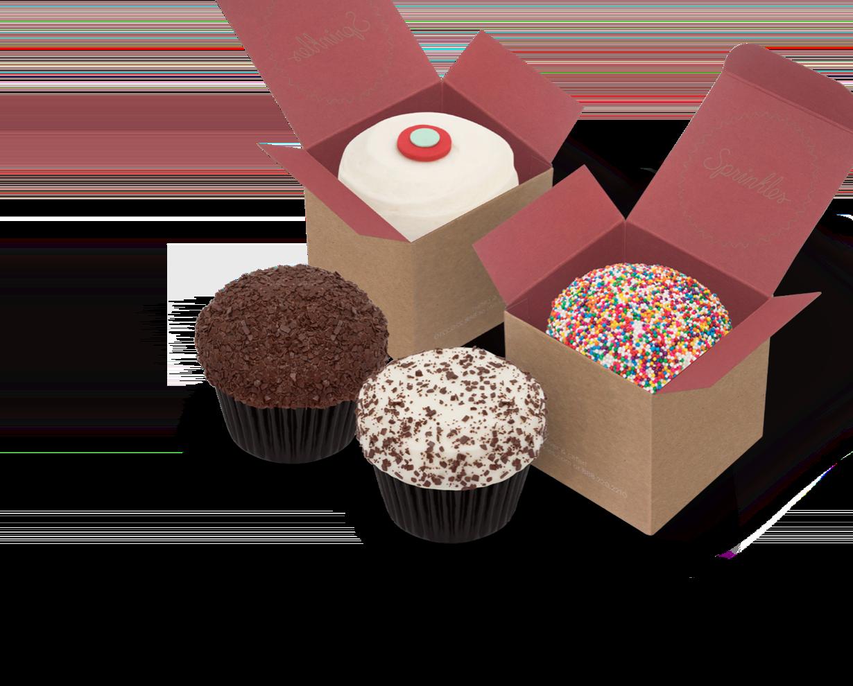 Cupcakes By Flavor Menu